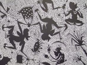 Dennis Nona Yarwarr (2007) etching